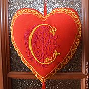 """Для дома и интерьера ручной работы. Ярмарка Мастеров - ручная работа """"Сердечный дар"""" - интерьерное украшение. Handmade."""