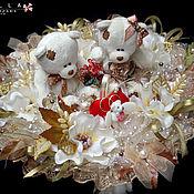Свадебный салон ручной работы. Ярмарка Мастеров - ручная работа Букет на свадьбу, свадебный подарок, осенняя свадьба,. Handmade.