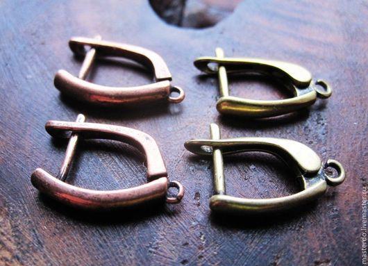 Для украшений ручной работы. Ярмарка Мастеров - ручная работа. Купить ШВЕНЗЫ английский замок медь латунь серебро. Handmade.