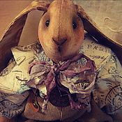 Куклы и игрушки ручной работы. Ярмарка Мастеров - ручная работа Винтажный зайчик.. Handmade.