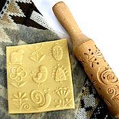 Для дома и интерьера ручной работы. Ярмарка Мастеров - ручная работа Скалка для пряников и печенья уютный дом. Handmade.
