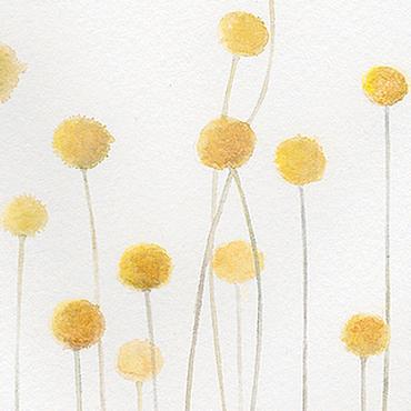 """Картины и панно ручной работы. Ярмарка Мастеров - ручная работа Акварель """"Пока травы спят"""". Handmade."""