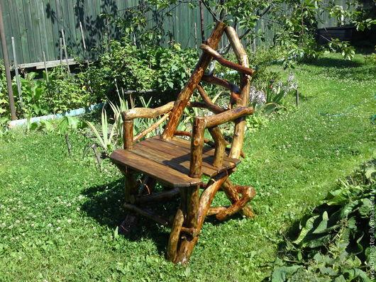 Мебель ручной работы. Ярмарка Мастеров - ручная работа. Купить Трон хозяина леса. Handmade. Кресло, природная мебель, стул