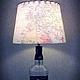 Подарки для мужчин, ручной работы. Jack Daniel's. masterskaya 'Ostrov'. Ярмарка Мастеров. Светильник из бутылки, география, Америка