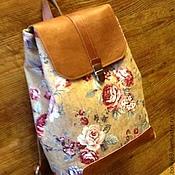 Сумки и аксессуары handmade. Livemaster - original item Backpack
