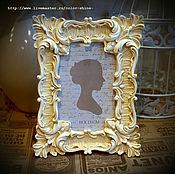 Сувениры и подарки ручной работы. Ярмарка Мастеров - ручная работа Фоторамка в стиле барококо №7. Handmade.