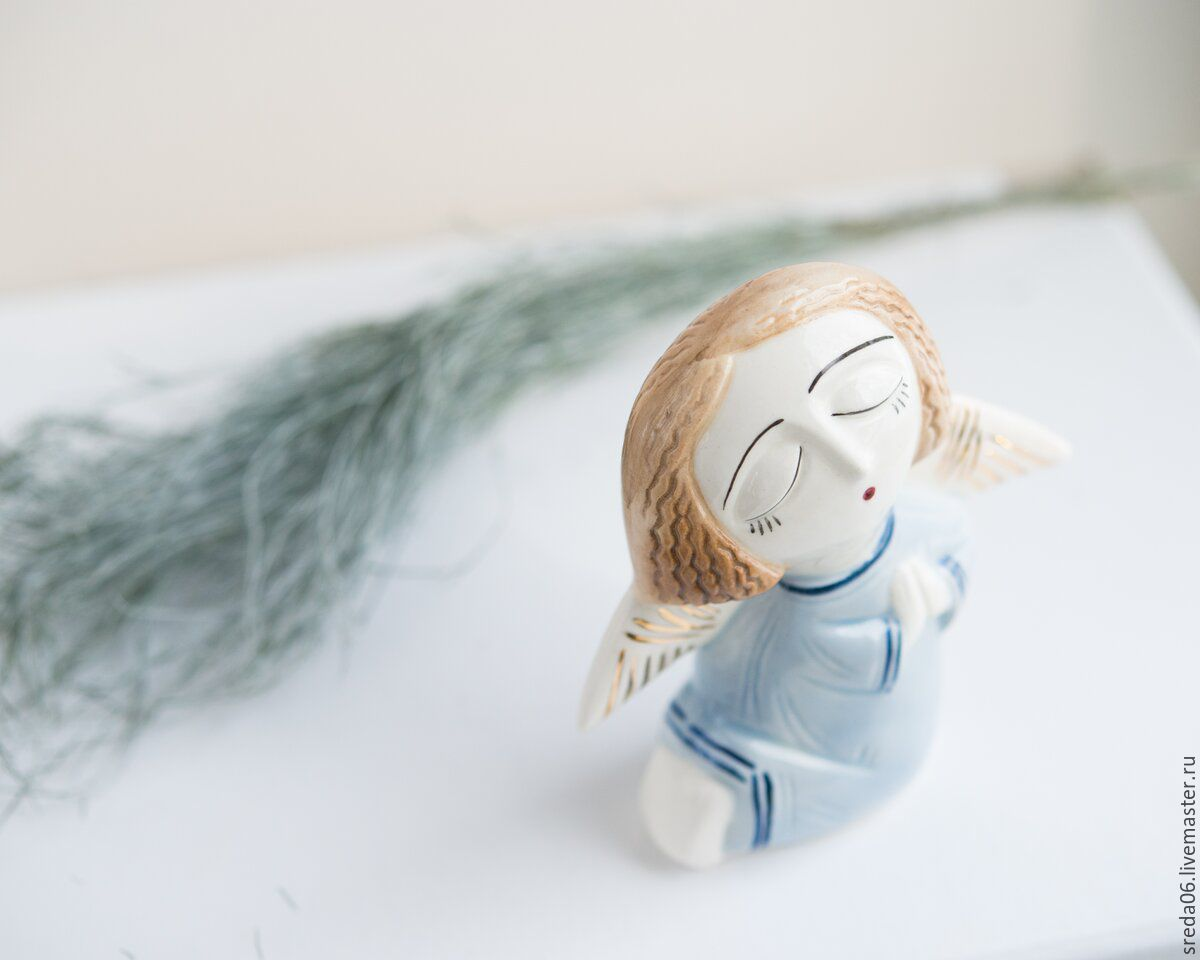 Buy porcelain angel easter gift on livemaster online shop porcelain angel easter gift porcelain story negle Image collections