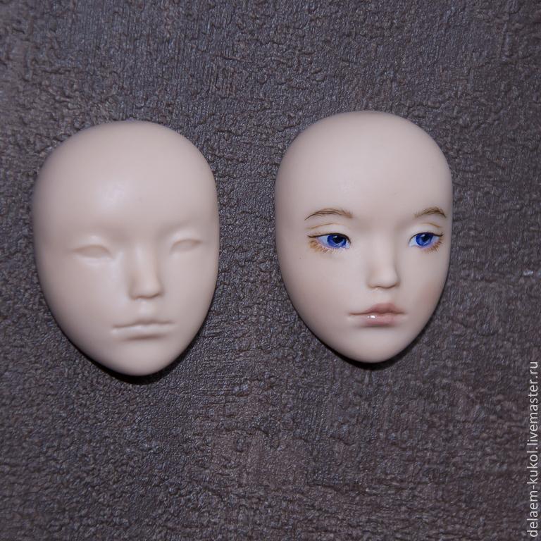 Молд лицо куклы своими руками