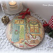 "Для дома и интерьера handmade. Livemaster - original item Decorative cutting board ""Toys"". Handmade."