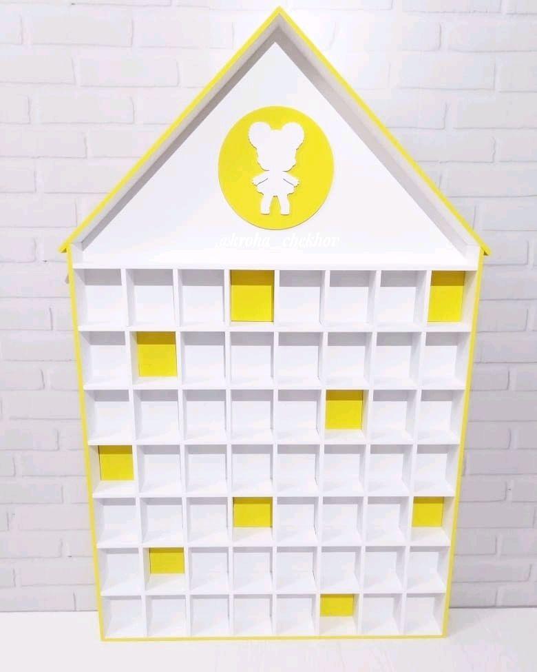 Стеллаж-домик для кукол Лол, Стеллажи, Чехов,  Фото №1