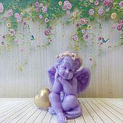 Косметика ручной работы handmade. Livemaster - original item Soap Angel with heart. Handmade.