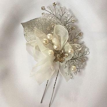 Свадебный салон ручной работы. Ярмарка Мастеров - ручная работа Украшение для невесты. Handmade.