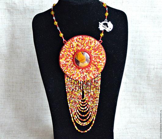 """Кулоны, подвески ручной работы. Ярмарка Мастеров - ручная работа. Купить Кулон """"Африка"""". Handmade. Комбинированный, кулон натуральный камень"""