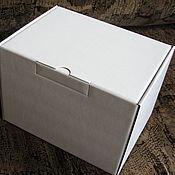 Материалы для творчества ручной работы. Ярмарка Мастеров - ручная работа Самосборная коробка из микрогофрокартона. Handmade.