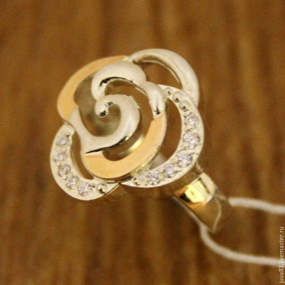 Серебряное кольцо Родник, серебро 925, Кольца, Севастополь, Фото №1