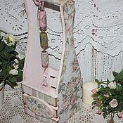 Для дома и интерьера ручной работы. Ярмарка Мастеров - ручная работа Короб для бутылки. Handmade.