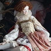 Куклы и пупсы ручной работы. Ярмарка Мастеров - ручная работа Margo. Фарфоровая подвижная кукла. Handmade.