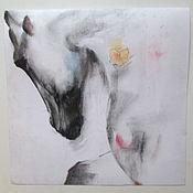 Картины и панно ручной работы. Ярмарка Мастеров - ручная работа картина лошадь Романтика. Handmade.