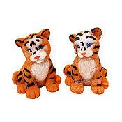Косметика ручной работы handmade. Livemaster - original item Soap Cute Tiger Cub handmade gift for the New Year 2022 symbol. Handmade.