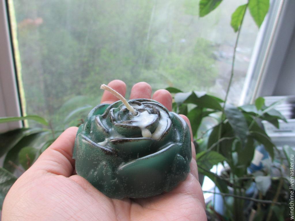 Зеленая роза к солнцестоянию