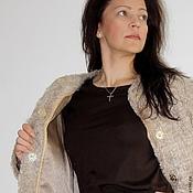 """Одежда ручной работы. Ярмарка Мастеров - ручная работа Пальто """" Золотая дымка"""". Handmade."""