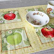 Для дома и интерьера handmade. Livemaster - original item Track on the table liquid Apples. Handmade.