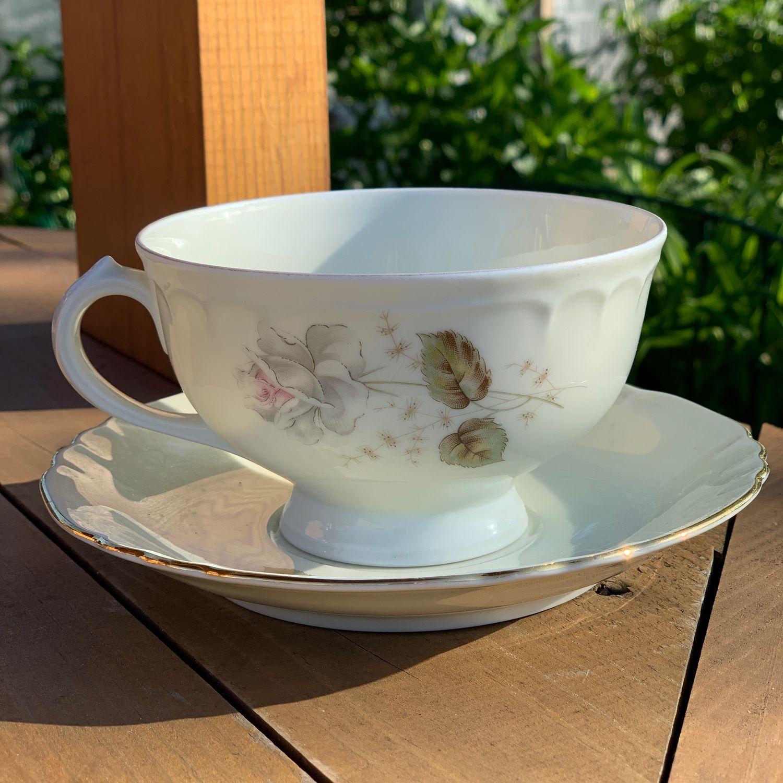 Large tea pair for 400 ml, Richard Ginori, Italy (4695), Vintage mugs, Tyumen,  Фото №1