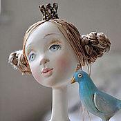 Куклы и игрушки ручной работы. Ярмарка Мастеров - ручная работа Авторская кукла  Мечты о Синей птице. Handmade.