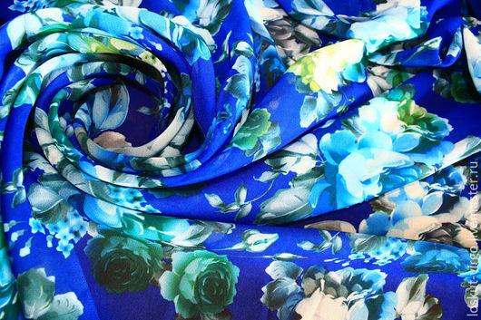 Шитье ручной работы. Ярмарка Мастеров - ручная работа. Купить Искусственный шелк с печать, 950руб-м. Handmade. Итальянская ткань