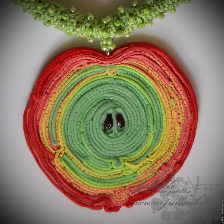 Pendant 'Forbidden fruit', Necklace, Krasnodar,  Фото №1