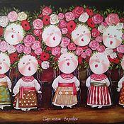 Картины и панно handmade. Livemaster - original item Copy of Painting