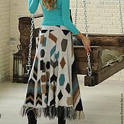 Одежда ручной работы. Ярмарка Мастеров - ручная работа Вязаная юбка``Эффектная``. Handmade.