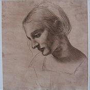 Картины и панно ручной работы. Ярмарка Мастеров - ручная работа Копия Леонардо да Винчи. Handmade.
