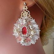 Свадебный салон handmade. Livemaster - original item Earrings