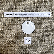 Материалы для творчества handmade. Livemaster - original item Enamel opaque Milky White No.12 Dulevo. Handmade.