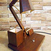Настольные лампы ручной работы. Ярмарка Мастеров - ручная работа Лампа Контрастный свет с пользой. Handmade.