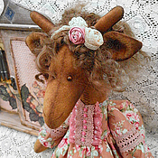Куклы и игрушки ручной работы. Ярмарка Мастеров - ручная работа Розалия, шебби-шик. Handmade.
