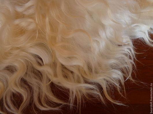 Куклы и игрушки ручной работы. Ярмарка Мастеров - ручная работа. Купить Волосы натуральные для кукол. Handmade. Белый, трессы