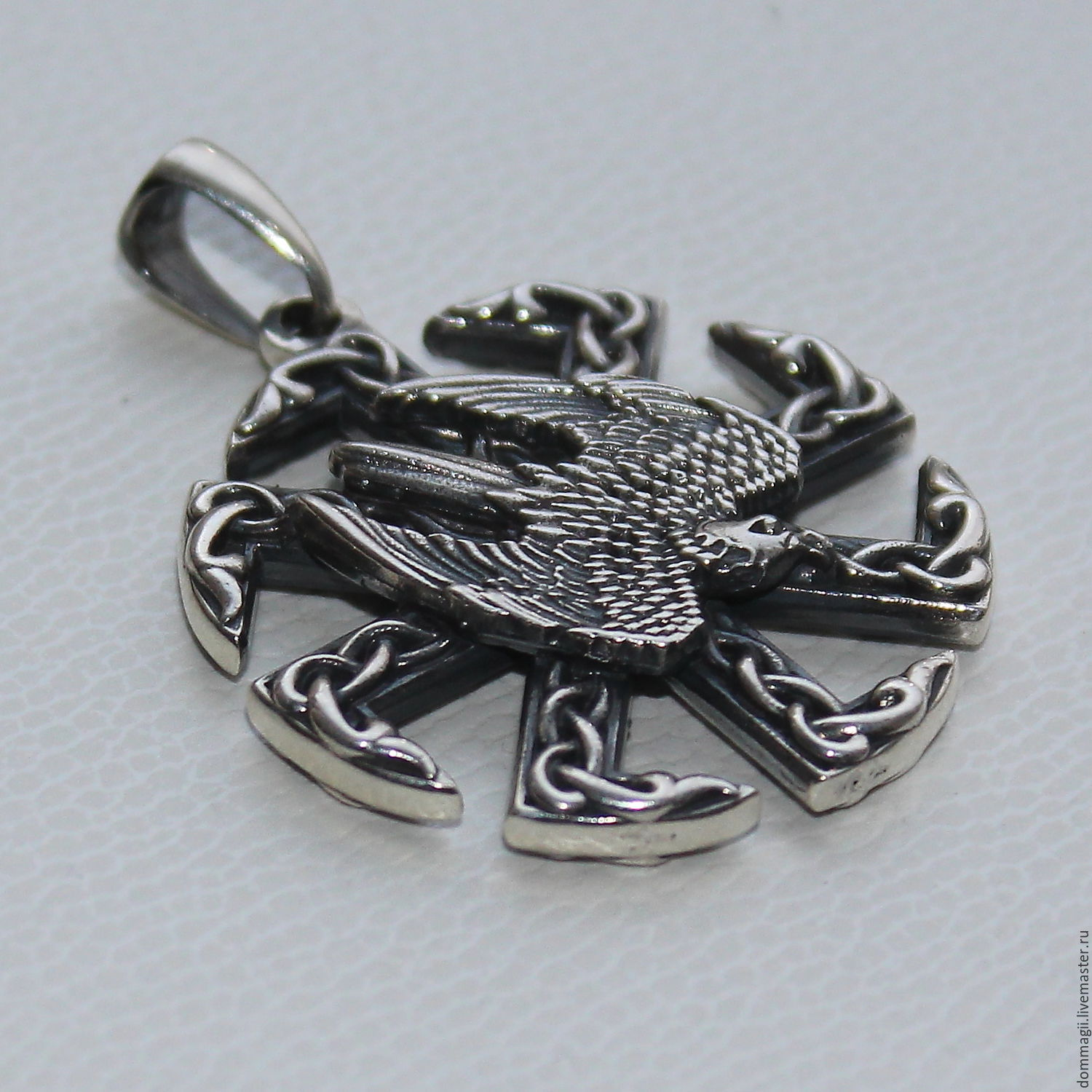 The Falcon Kolovrat has preserved, Amulet, Moscow,  Фото №1