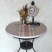 Для дома и интерьера ручной работы. Ярмарка Мастеров - ручная работа Столик кофейный Antoinette. Handmade.