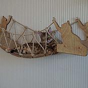 Зоотовары handmade. Livemaster - original item The wicker bridge for cats