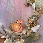 """Картины и панно ручной работы. Ярмарка Мастеров - ручная работа """" Коралловый риф 2"""". Handmade."""