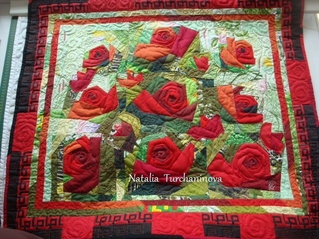 """Patchwork, interior painting. """"Oh, what thorn, my red rose"""", Pictures, Yaroslavl,  Фото №1"""