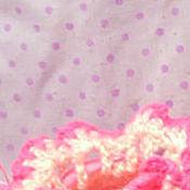 Работы для детей, ручной работы. Ярмарка Мастеров - ручная работа Пинетки  для девочки цвета утренней зари. Handmade.