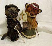 Куклы и игрушки ручной работы. Ярмарка Мастеров - ручная работа Мошенники. Handmade.