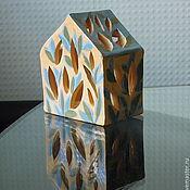 Для дома и интерьера ручной работы. Ярмарка Мастеров - ручная работа Тёплый домик на природе. Handmade.