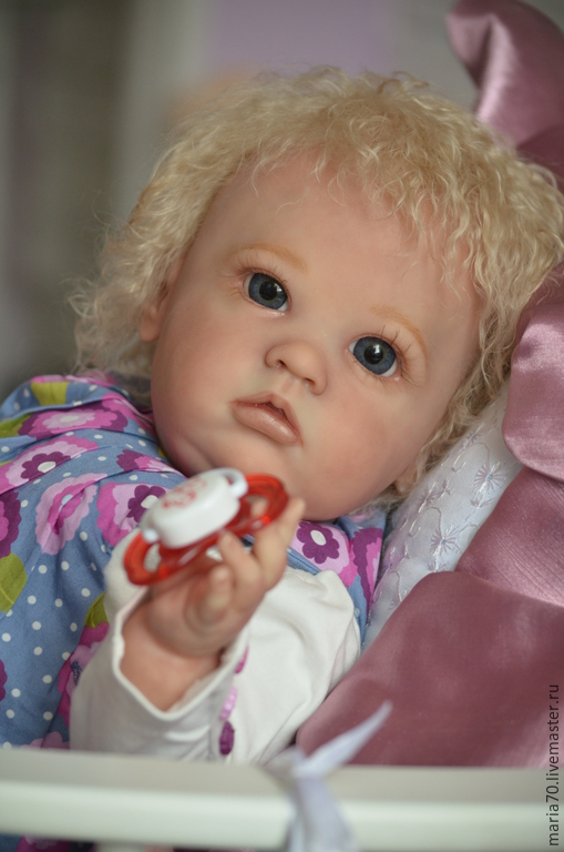 Куклы-младенцы и reborn ручной работы. Ярмарка Мастеров - ручная работа. Купить КУКЛА РЕБОРН - Sharlomae. Handmade. Разноцветный