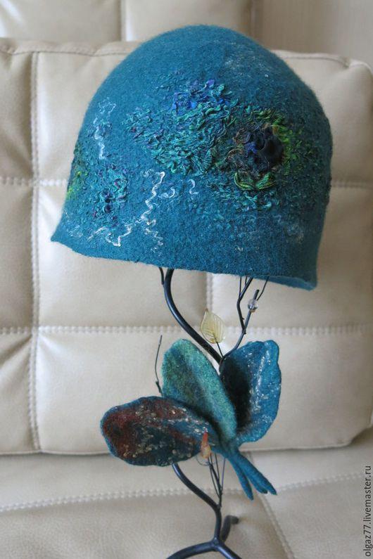 """Шляпы ручной работы. Ярмарка Мастеров - ручная работа. Купить Шляпка валяная  """"Нескучная"""". Handmade. Валяная шляпка, шляпка валяная"""