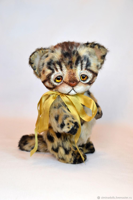 Бенгальский котенок, Мягкие игрушки, Липецк,  Фото №1