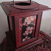 "Для дома и интерьера handmade. Livemaster - original item Lantern-candle holder ""the East wind"". Handmade."